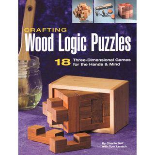 Bk-Crafting Wood Logic Puzzles***
