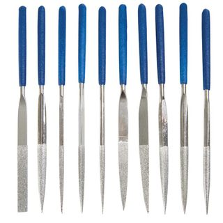 Diamond File Set (10) 160mm Length