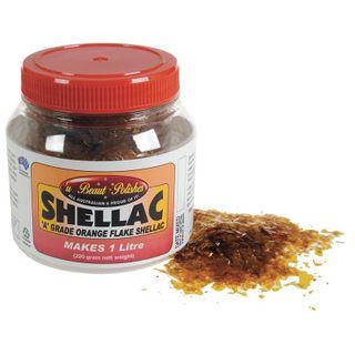 Orange Shellac Flakes - Makes 1 Litre