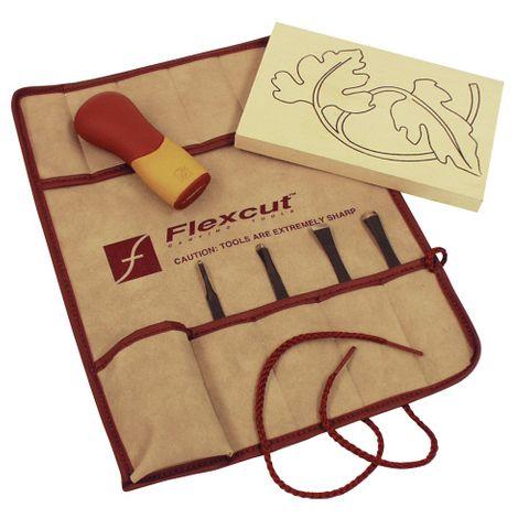 Flexcut Five Piece Craft Carver Set