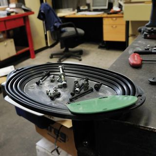Magnetic Parts Tray Oval