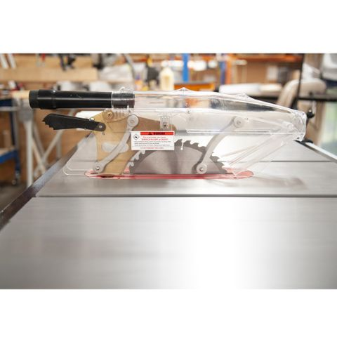 """Carbatec Professional 250mm Cabinet Saw with 30"""" Hi-Lo Fence Kit"""