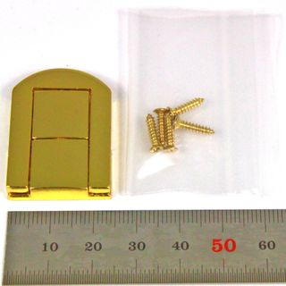 Brass Plated Box Catch 32x25x6mm
