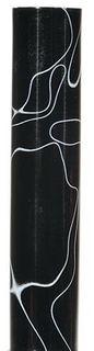 Acrylic Pen Blank Black / White Marble