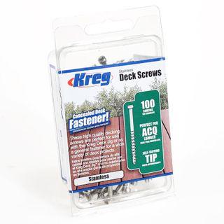 Kreg Deck Screws 305 Stainless (100)