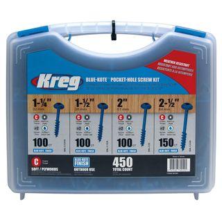 Kreg Pocket Hole Screws (450) BLUE
