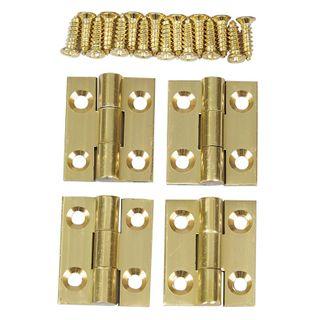 Solid Brass Butt Hinge 3/4 x 5/8    2pr