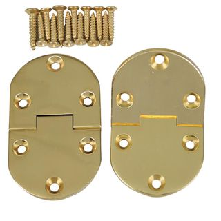 Brass Buttlers Hinge 2-1/2inx1-1/2in 1pr