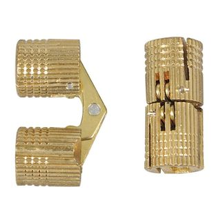 Brass Concealed Hinge 1pair 8mm