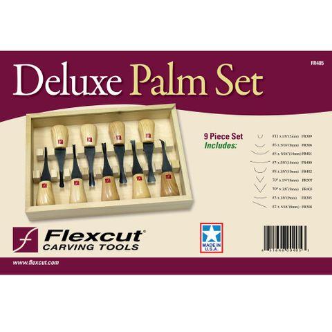 Flexcut Deluxe Palm Set