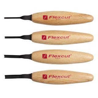 Flexcut Deep U Gouge Chisel Micro Tool Set