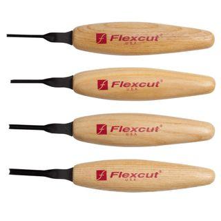Flexcut 45° Parting Micro ToolSet