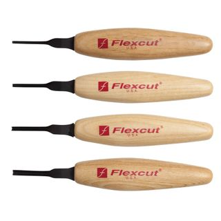 Flexcut 60° Parting Micro Tool Set