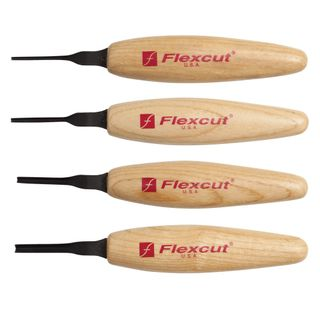 Flexcut 90° Parting Micro Tool Set