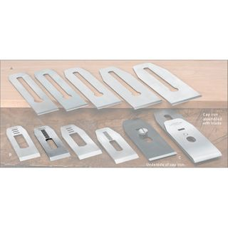 """Veritas® Blades made for Stanley/Record Block Planes - 35mm with 7/16"""" slot"""