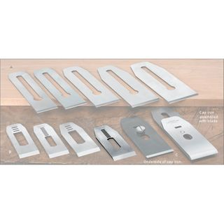 """Veritas® Blades made for Stanley/Record Block Planes - 41mm with 7/16"""" slot"""