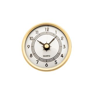 70mm Clock Insert with Arabic Numbers