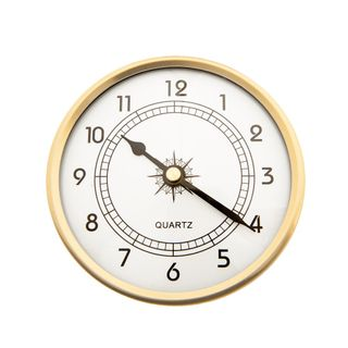 108mm Clock Insert with Arabic Numbers