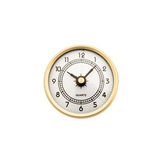 60mm Clock Insert with Arabic Numbers