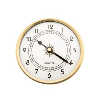 90mm Clock Insert with Arabic Numbers  ***