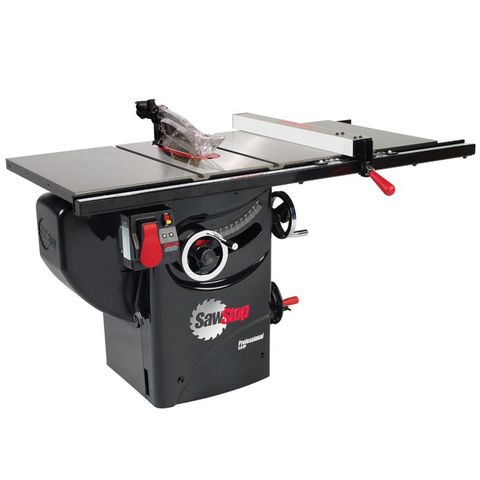 """SawStop Professional Cabinet Saw with 30"""" Premium Rail"""