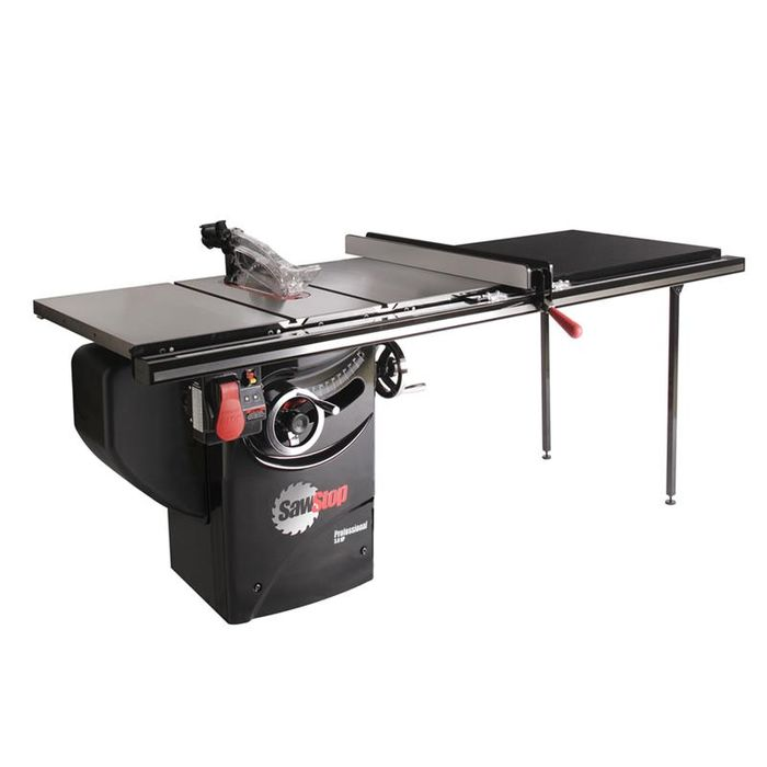 SawStop Professional Cabinet Saw with 52 inch T-Glide Rail