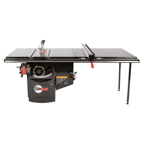 SawStop Industrial 3HP Cabinet Saw and 52 in T-Glide Rail
