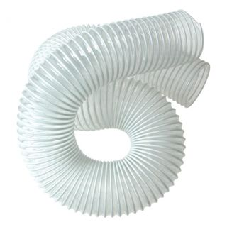 Clear Flexible Plastic Hose - 5 inch dia - 1 meter length
