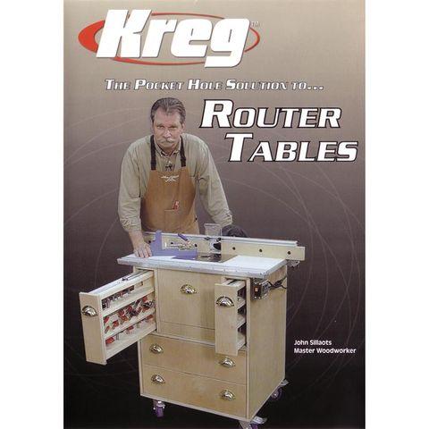 Kreg Router Table Making DVD