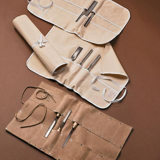 Chisel Roll Canvas 9 Pocket