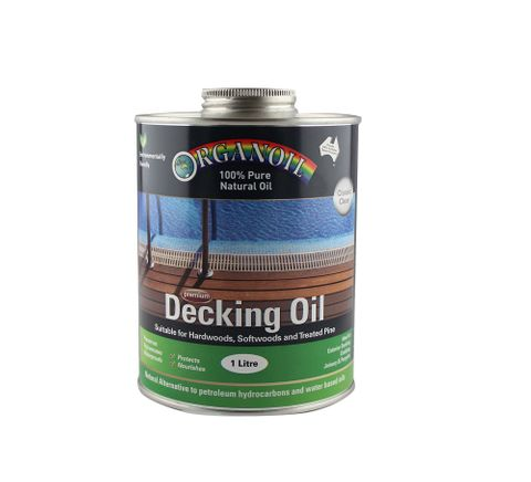 Organoil Decking and Exterior Clear Oil 1L