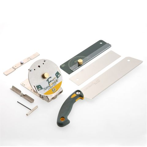 Japanese Compound Saw Guide Kit & Saw