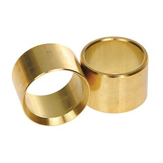 Brass Ferrule- 25mm OD / 22mm ID Pkt/2