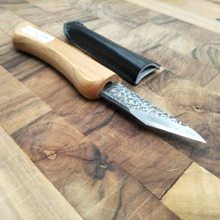 Japanese Carving Knife Short Cutting Edge