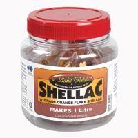 Orange Shellac Flakes - (Bulk)