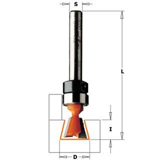 Dovetail Bit for KL-15 and Keller Jig