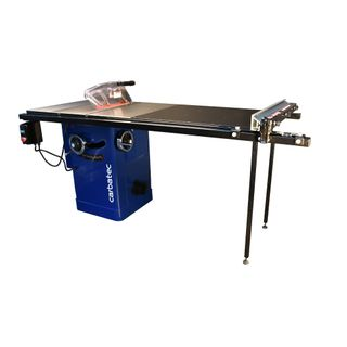"""Carbatec Professional 250mm Cabinet Saw with 50"""" Hi-Lo Fence Kit"""