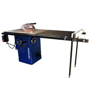 """Carbatec Professional 250mm Cabinet Saw with 50"""" Rail and T-Glide Fence"""