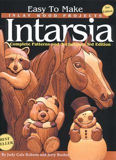 Bk-Easy to Make Inlay Wood Intarsia