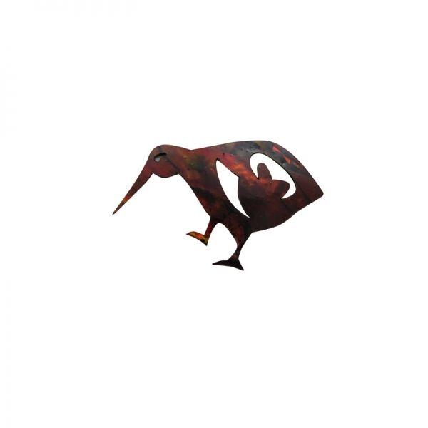 Paua Native Kiwi -Goldern Ochre)