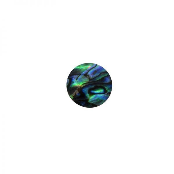 Shape-Paua - Circle Large 20mm Pkt/12