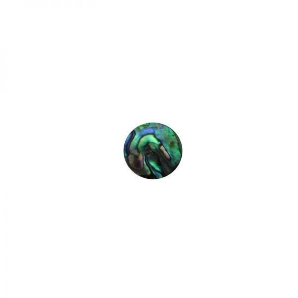 Shape-Paua - Circle Medium 15mm Pkt/12