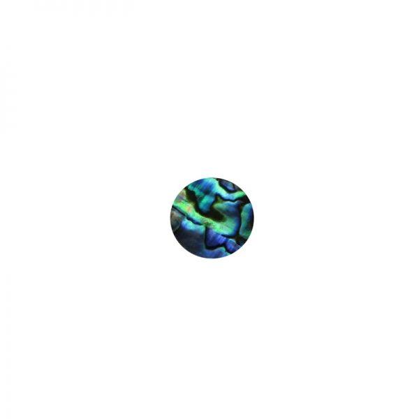 Shape-Paua - Circle Small 10mm Pkt/12