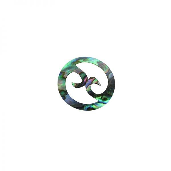 Shape-Paua -Double Koru Round
