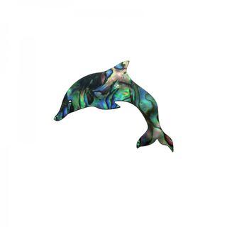 Shape-Paua- Dolphin Small 40Wx30H Pkt/12