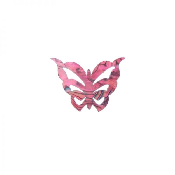 Paua Butterfly Pink Large