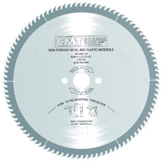 CMT Saw Blade for Aluminium Extrusion***