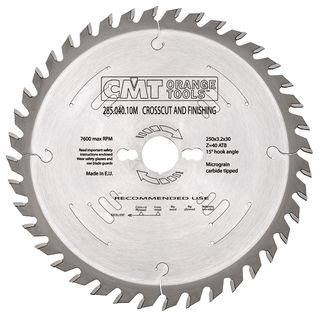 Comb Blade 250mm 40Teeth 3.2Kerf