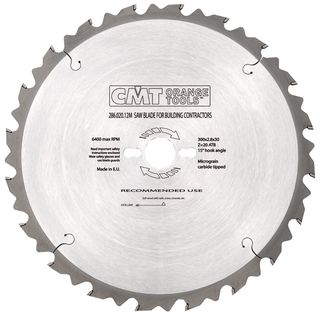 Construction Blade 250mm 16Teeth 2.8Kerf