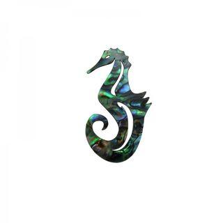 Paua Seahorse Natural